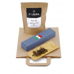 """Подарочный набор для мужчины на 23 февраля """"Чай с конфетами"""" (чай + конфеты + крафтовый пакет)"""