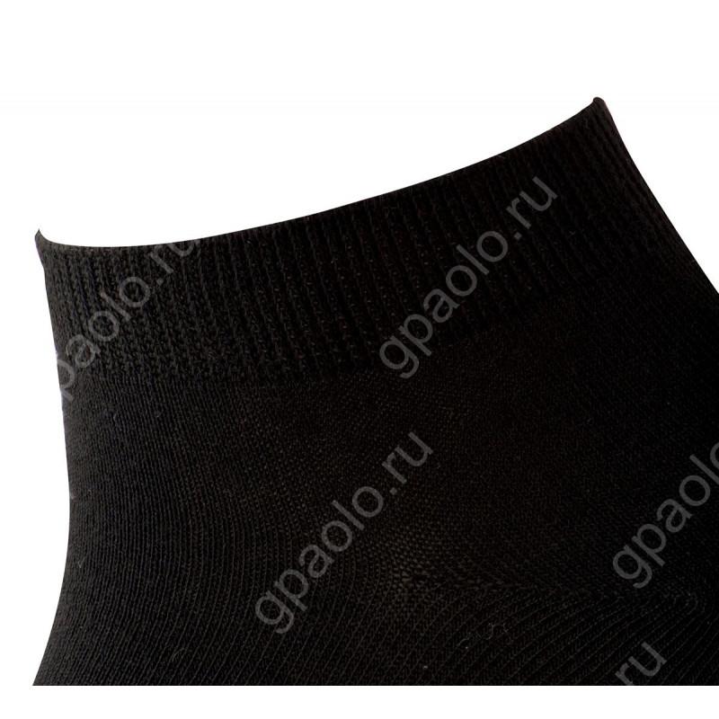 Рулон носков 15 пар короткие черные